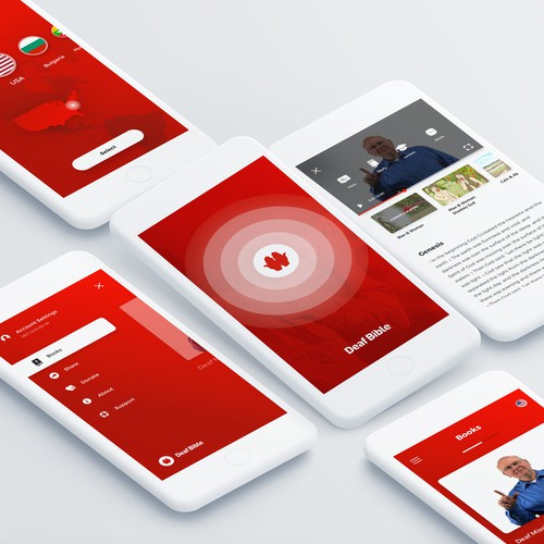 An app design for DeafBible