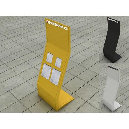 Design und Konzeptherstellung für Planschutzhüllen Display am POS.