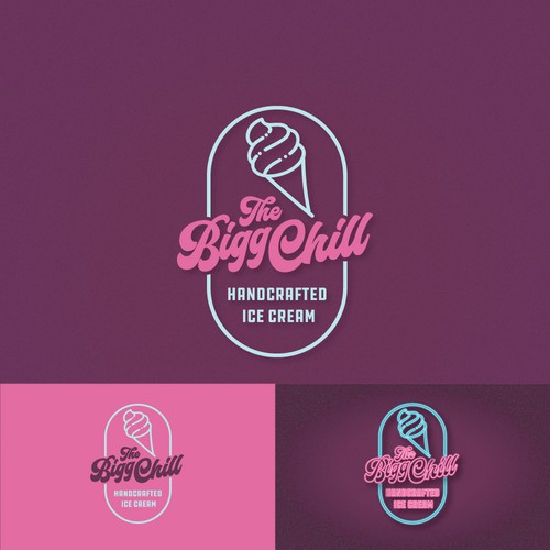 Ice Cream Shop Logo