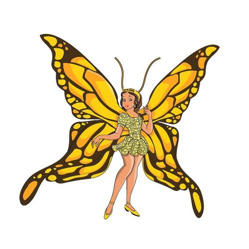 "Design A Children Book Character ""Asor the Butterfly"""
