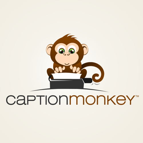 Caption Monkey needs a new logo