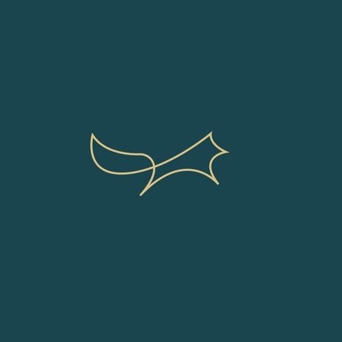 Signet logo with fox
