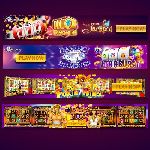 Casino banner design