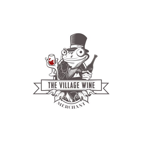 Help The Village Wine Merchant with a new logo