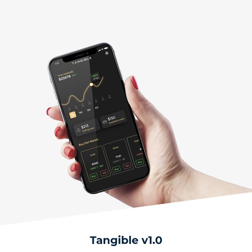 Tangible Commodities trading app
