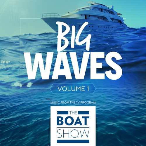 iTunes Cover Art for The Boat Show Music Compilation