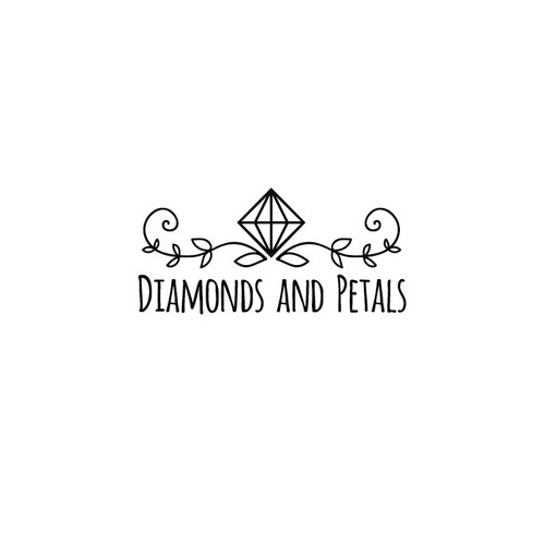 Create a stylish boutique logo for a wedding inspiration website