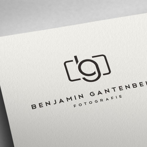 Simple but Strong Photographer Logo Design