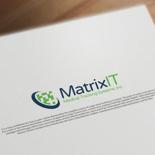 Logo Design for Matrix IT