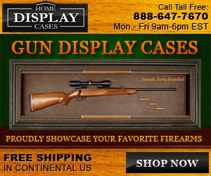 banner ad for Home Display Cases