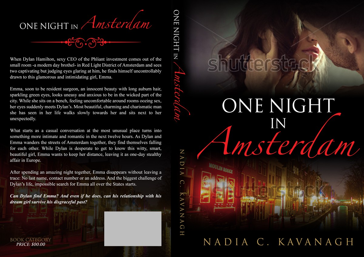 Create an eye catching, sexy cover for a Contemporary Romance Novel