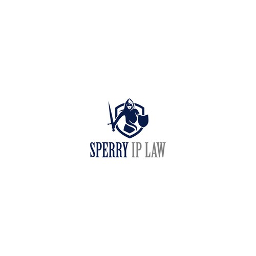 modern logo for Sperry IP Law