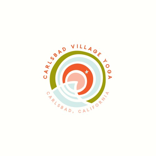 Logo Concept for Carlsbad Village Yoga