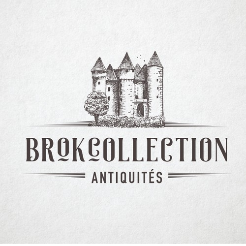 Illustrative logo for Brokecollection shop