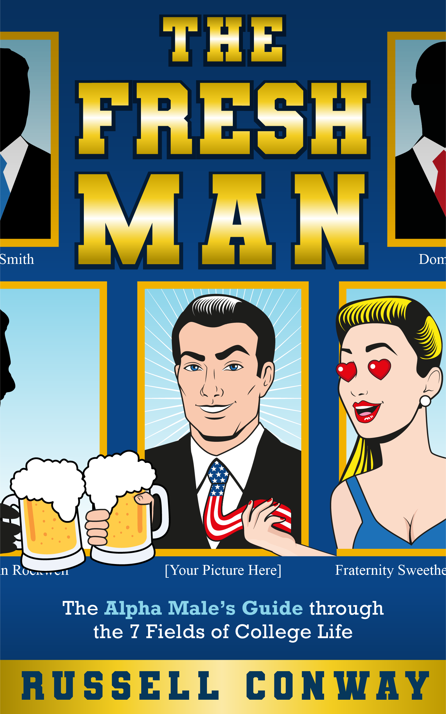 Self-help eBook for College men needs chic, masculine cover art