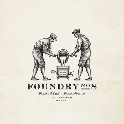 Logo design for FoundryNo.8