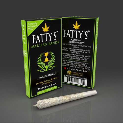 PRODUCT PACKAGING FOR FATTY'S