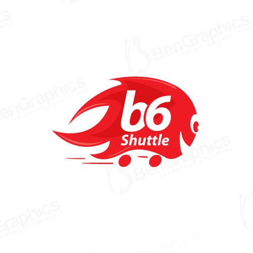 Fun style logo for young transportation company.