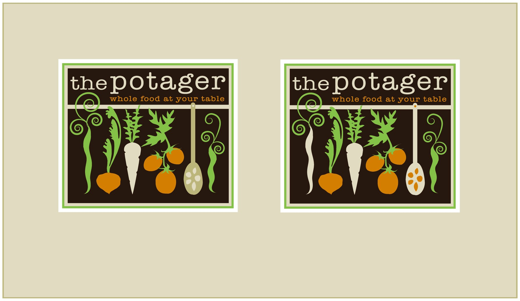 New logo wanted for the potager