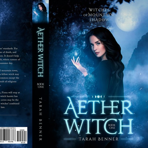 Aether Witch - Book cover