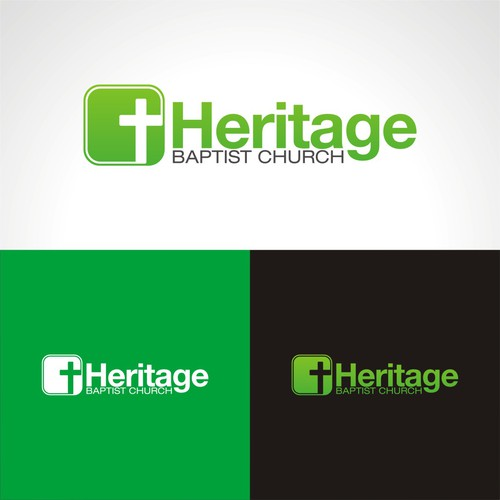 Help Heritage Baptist Church with a new logo