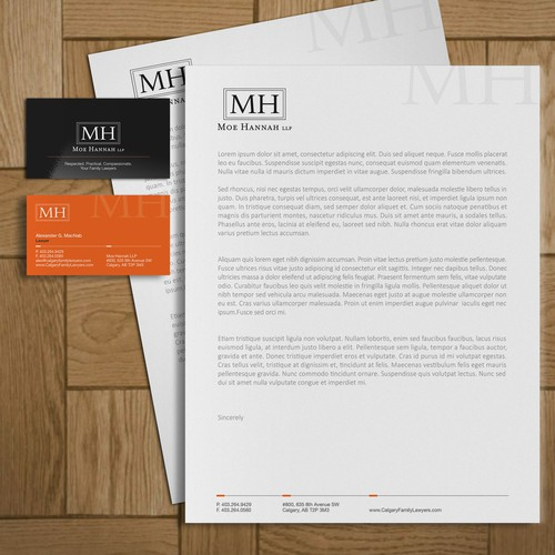 Business Card + Letterhead Design
