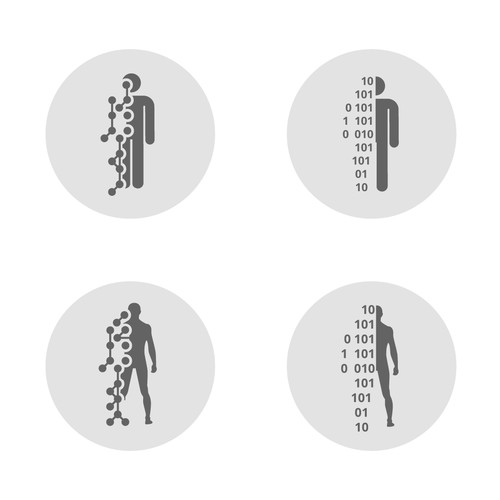 Icon design digital life