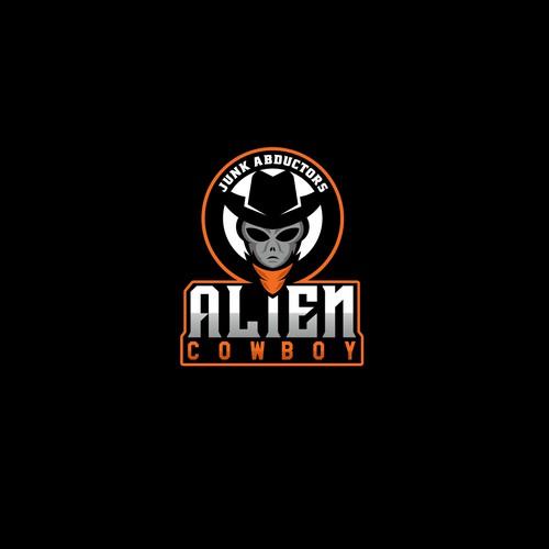 ALIEN COWBOY LOGO