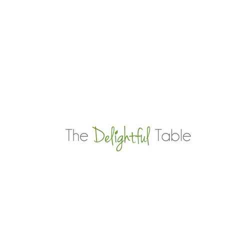 Logo for a Delightful Table