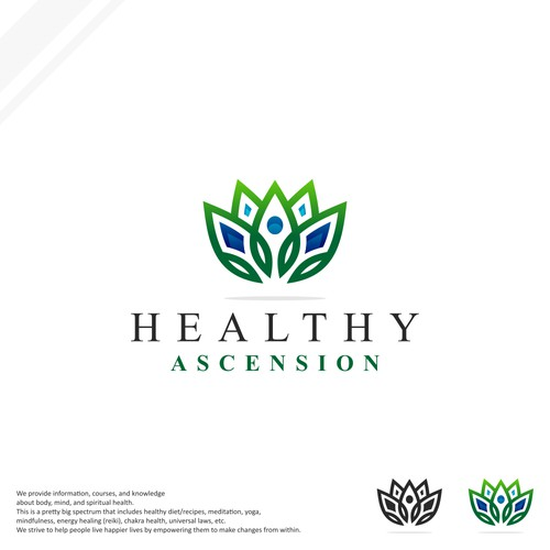 Healthy Ascension Logo Design