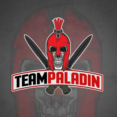 Mascot Logo for Team Paladin