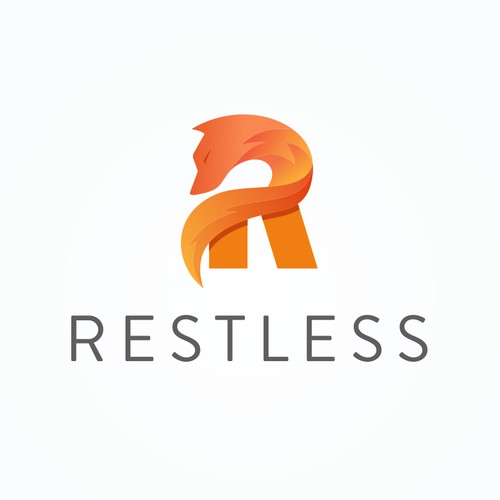 Logo concept for restless