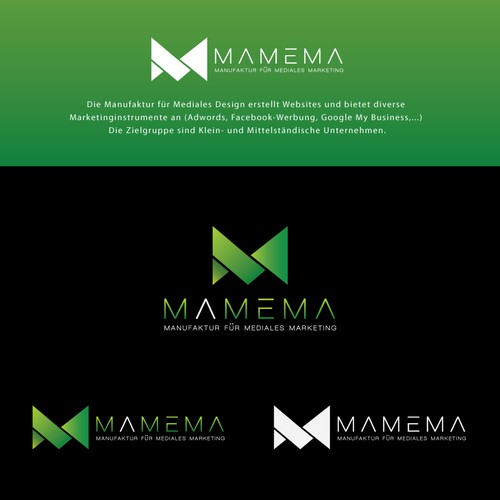 The Winning Design : Mamema | Online-Marketing-Agentur sucht ein Logo
