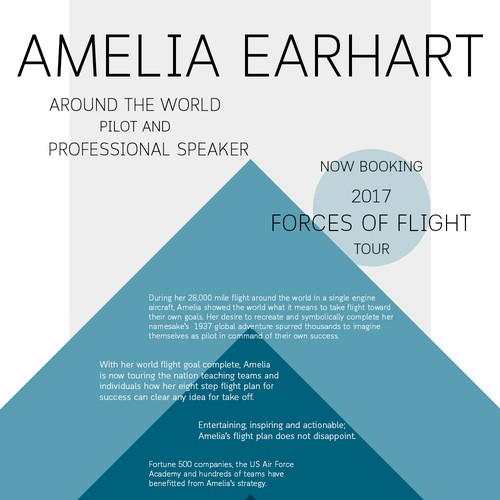 Abstract composition for professional speaker.