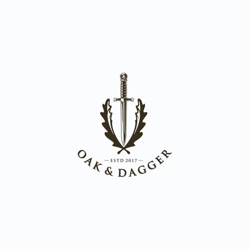 Logo Concept for Oak & Dagger