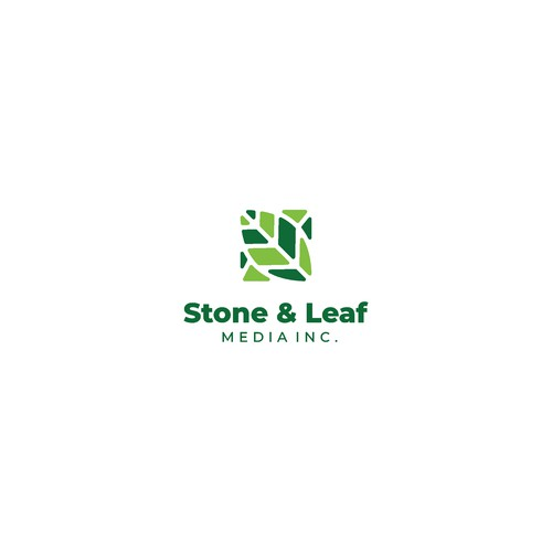 stone and leaf media