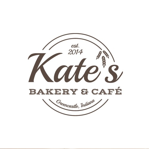Logo concept for bakery & cafe