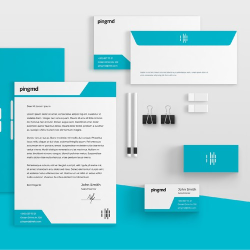 pingmd stationery