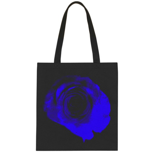 Bag Design Blue Rose