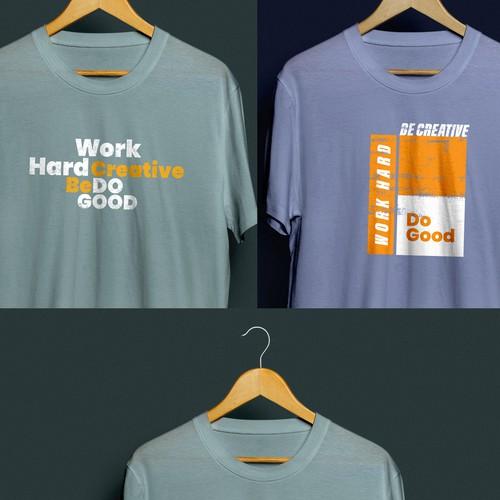 Minimalist T-shirt design