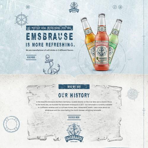Emsbrause Website Design