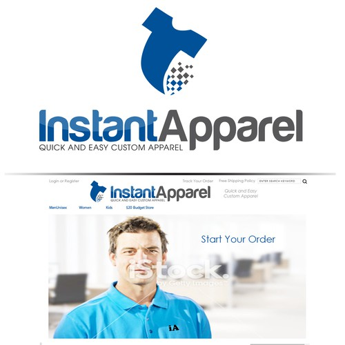 Instant Apparel Logo Contest