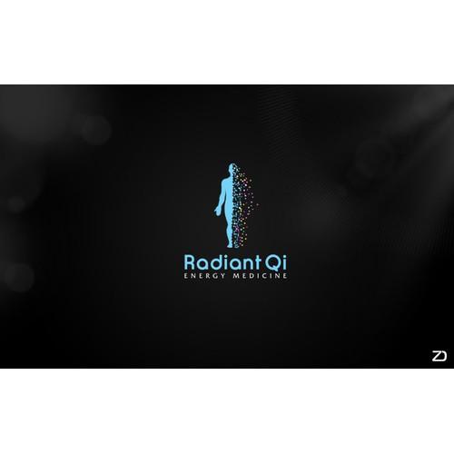 "logo for Radiant Qi ""ENERGY"""