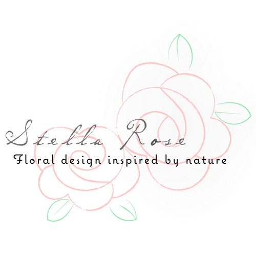 Delicate Logo for Floral Design Company