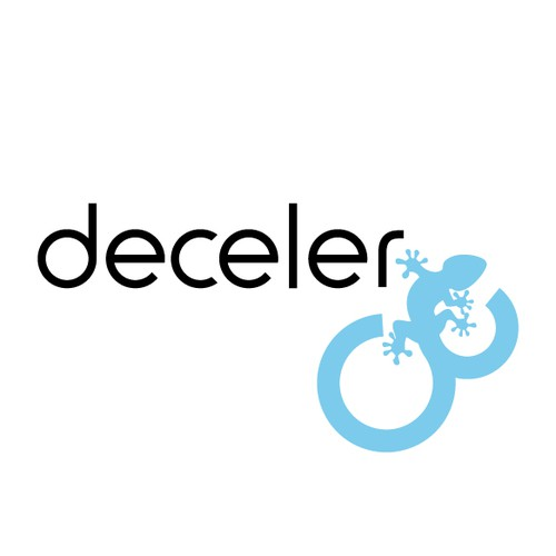 "Create a beautiful logo for the world's first ""decelerator"""