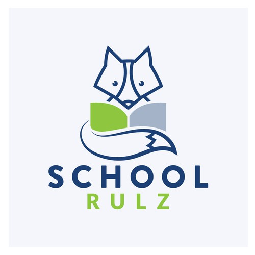 Brand logo for a school software company