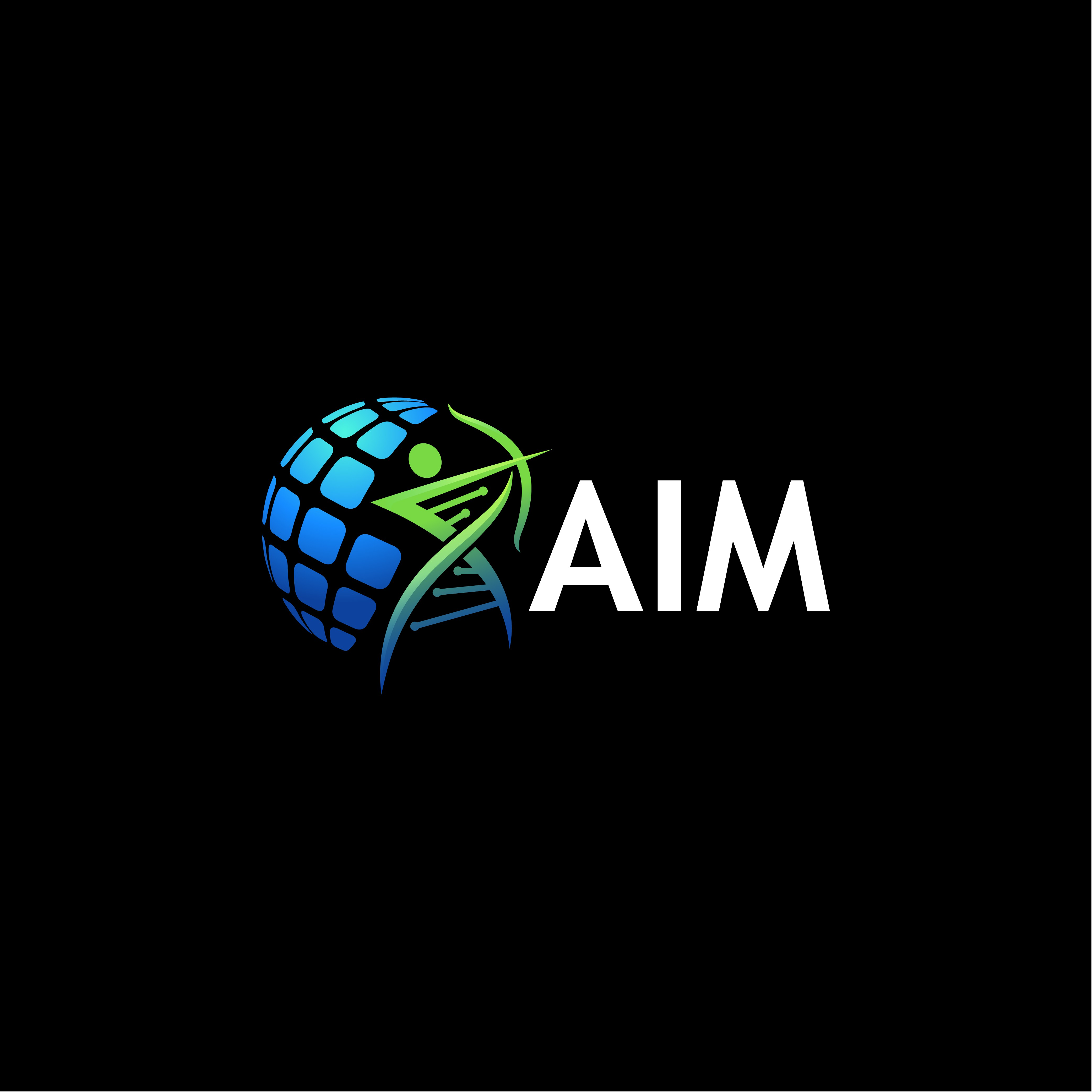 AIM LOGO for a world renown Company that advances medical breakthroughs !