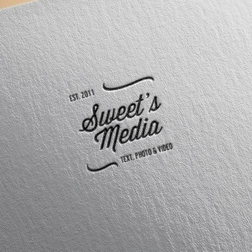 Creative branding for Sweet's Media