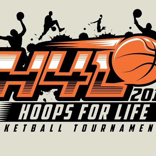 Basketball Charity Tournament Logo Design