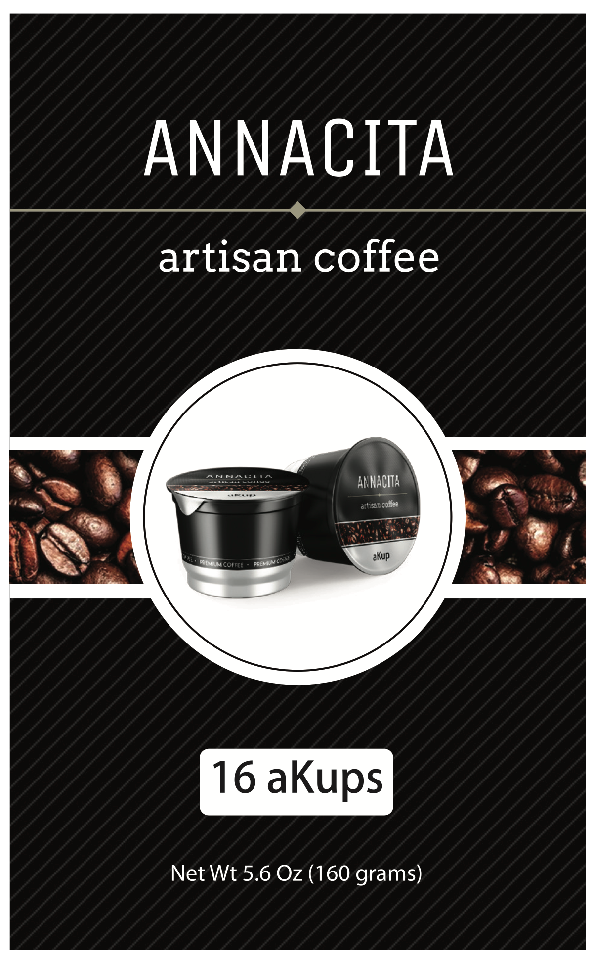 Label for Kraft Bag + Labels for K cup lids